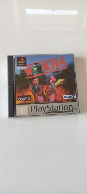 Worms PlayStation One PSX