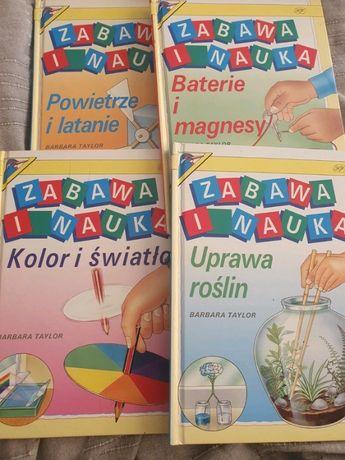 4 książki z serii Nauka i Zabawa