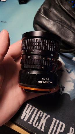 Pallas magenta AM 28mm f/2.8 m42