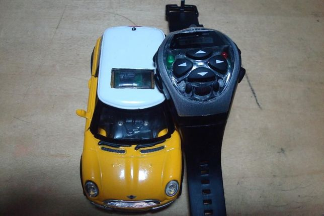 2001 yellow Mini-Cooper Remote-Control-Watch impcavel