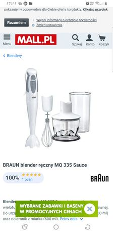 Blender Braun MQ 335