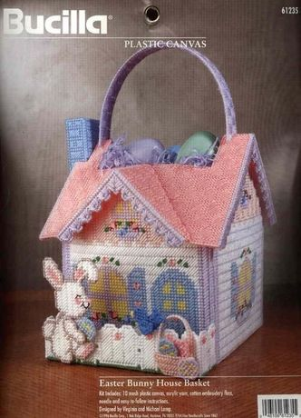 Набор Bucilla Easter Bunny House Basket 61235