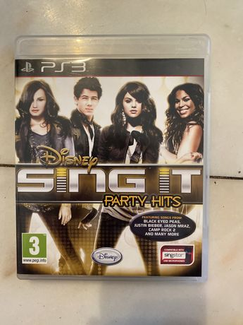 Jogo PS3 - Sing It party hits