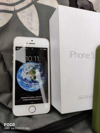iPhone 5s 16gb хорошее состояние