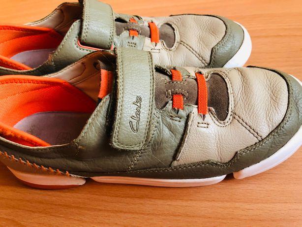 Кожаные туфли Clarks , 36 р. Состояние новых.