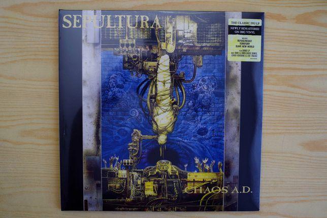 """Sepultura """"Chaos A.D."""". Podwójna płyta winylowa."""