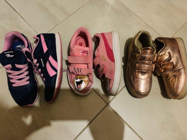 Обувь, Кроссовки не Puma/reebok/zara/adidas/ на девочку