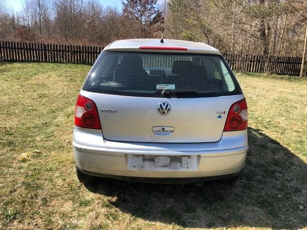 Klapa tył VW Polo 9N Srebrna LA7W