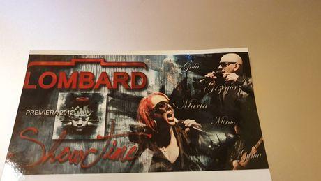Lombard zdjęcie z autografami