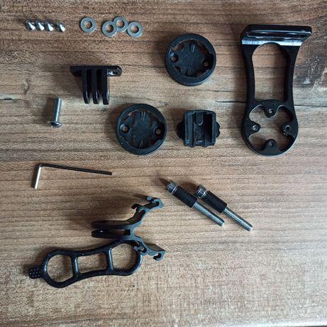 Крепление велокомпьютера, фонаря или екшн камеры gopro на руль(вынос)