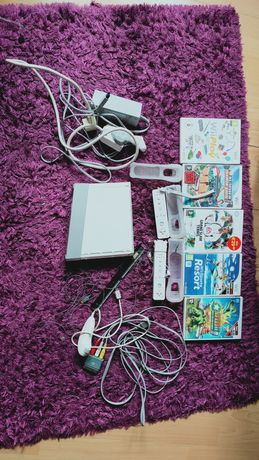 Nintendo Wii + gry
