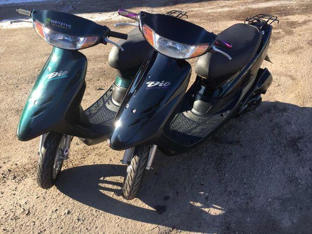 Японські скутери, мопеди Honda Dio без пробігу по Україні!