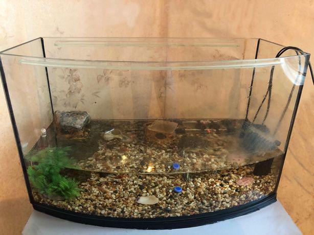 Продам аквариум 65 литров