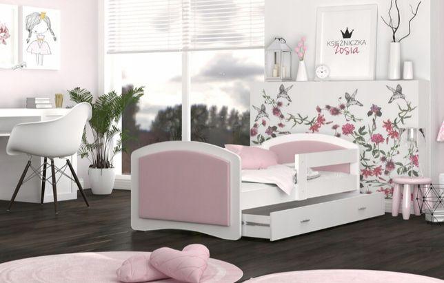 Łóżka dla dzieci Megi * szare i różowe*