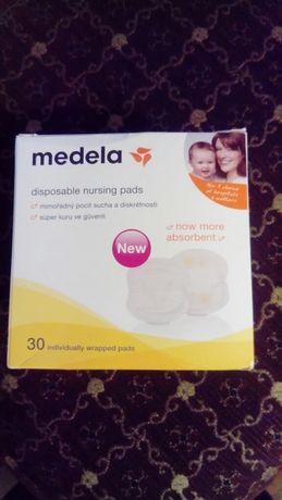 Одноразовые вкладыши для бюстгальтера Medela Disposable Nursing Pads 6