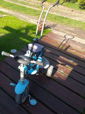 Rowerek trzykołowy niebieski