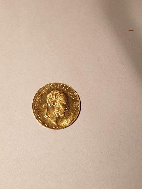 Zlota moneta dukat 1915