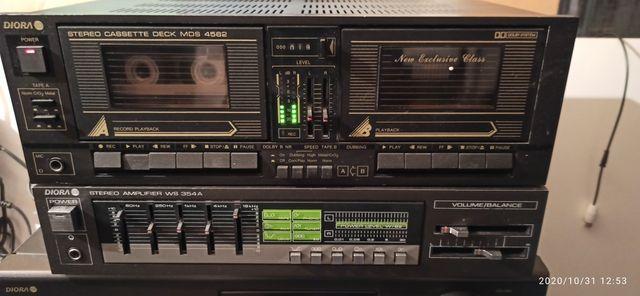 Diora magnetofon MDS 4562 sprawny stan kolekcjonerski