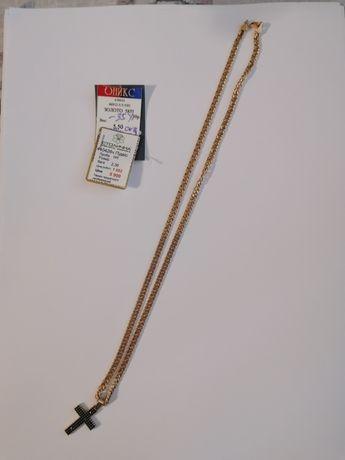 Золотая цепочка с подвеской