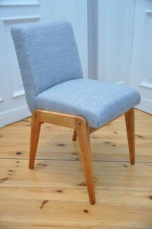 2 Krzesła AGA, projekt Chierowski, loft, odnowione, PRL, vintage