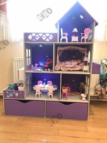 Акция!! Кукольный домик для кукол Barbie