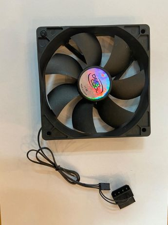 Ventilador PC 140mm DeepCool silencioso