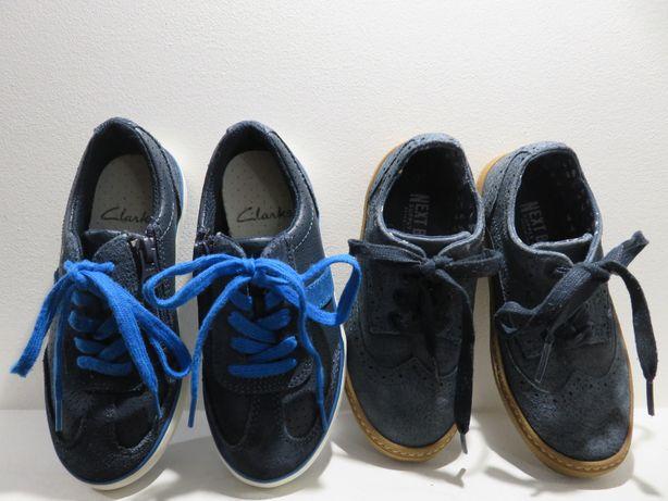 buty clarks, next dla chłopca cena za 2 szt. rozmiar 29