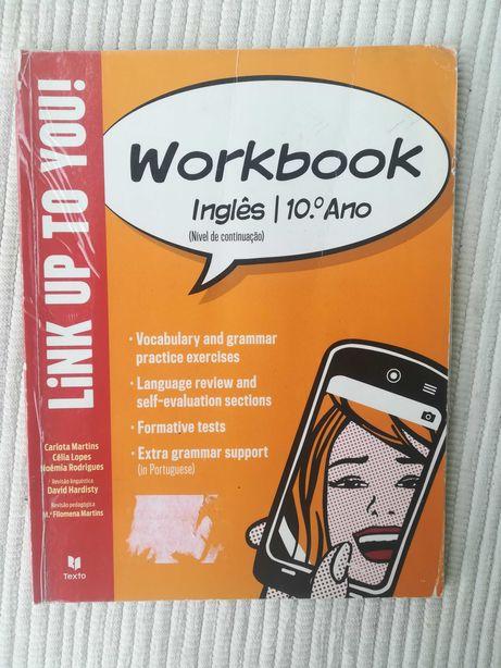Link up to you 10 - caderno de atividades (portes incluídos)