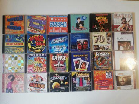 Kolekcja 24 płyt CD z muzyką