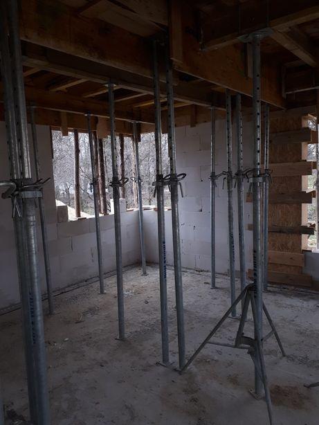 Wynajem szalunki stropowe ścienne rusztowania fasada rotax.