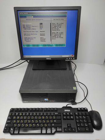 Отличный компьютер для школьника или офиса +монитор, клавиатура, мышь