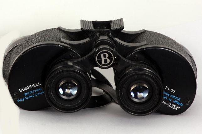 Binóculos Bushnell Insta-Focus 7 x 35 - 140m a 1000m - com estojo