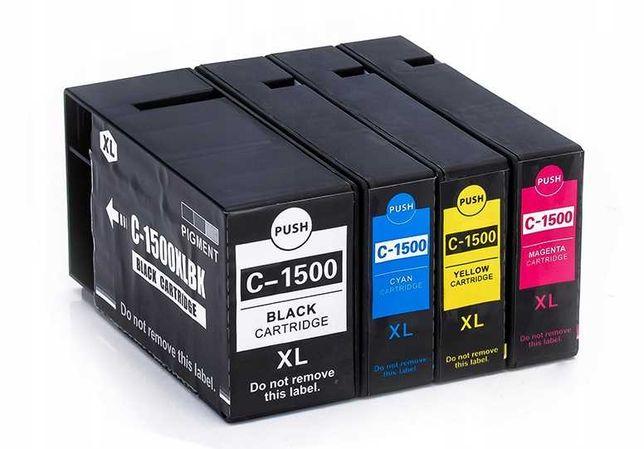 Nowe 4x Tusze XL do drukarki Canon Maxify MB2150 Chip