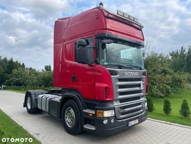 Scania R500  Scania Topline Euro 5, V8, ksenony, retarder z międzynarodówki