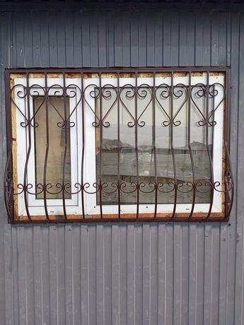 Решётки на окна и двери, доставка и монтаж.