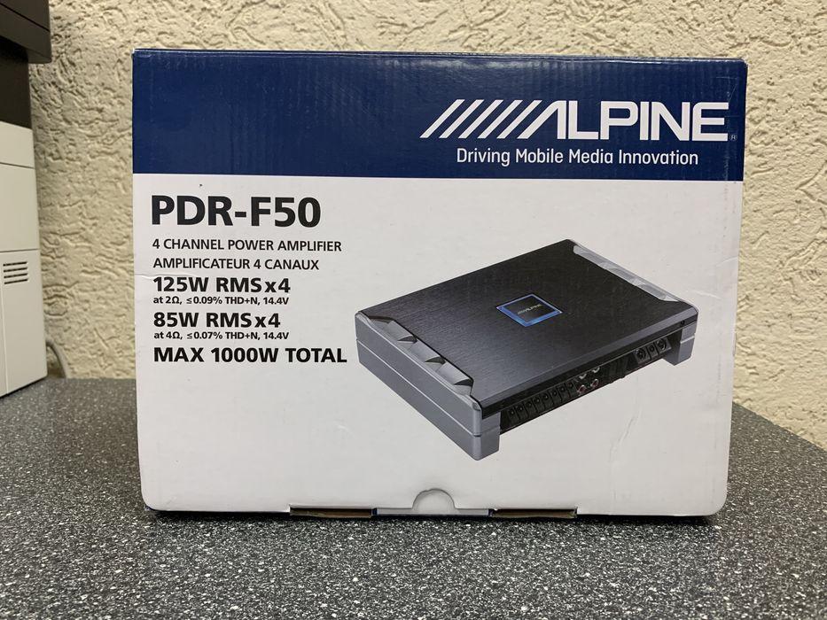 Усилитель Alpine PDR F50 Житомир - изображение 1
