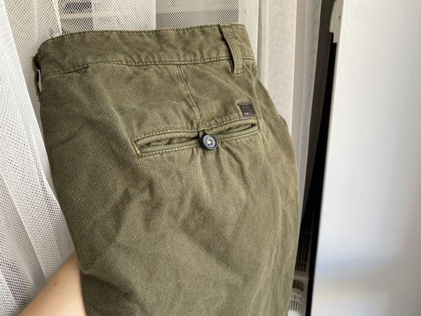 Khaki spodnie męskie Zara, rozm. 48