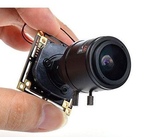 Mini Camera HD 800TVL - CCTV 2.8-12mm