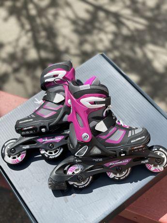 Б/У детские ролики Rollerblade проверенные, со скидкой