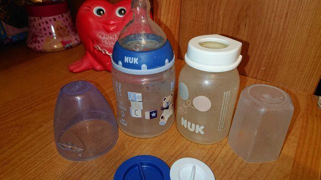 Бутылочка для кормления nuk 0-18 месяцев, бутылочка для смесей нюк