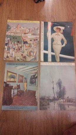 Журналы Tidens kvinder 1954-1961г на немец.яз.