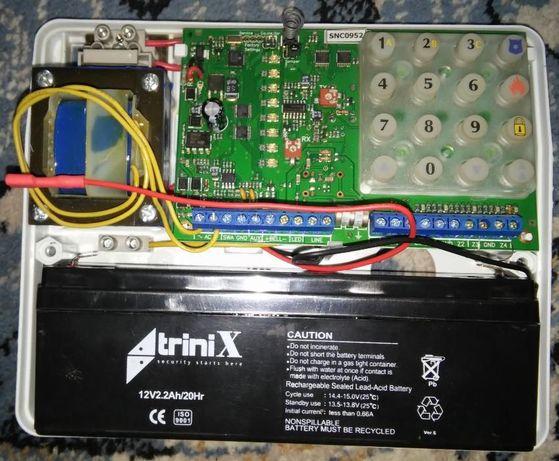 Прибор приемно-контрольный (ППК) МАКС 4411 с аккумулятором!
