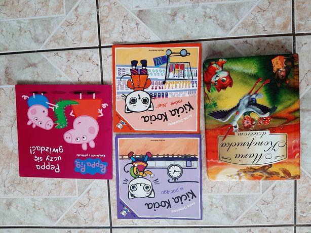 Książka dla dzieci zestaw Kicia Kocia, Peppa i inne