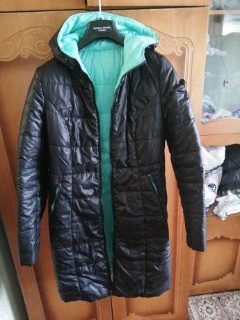 Курточка для беременных двохсторонняя