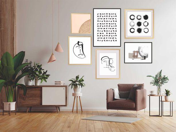 plakaty autorskie dowolny rozmiar różne wzory