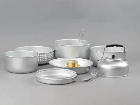 Набор Посуды 9 элементов с Горелкой Mil-Tec (14700500) Германия