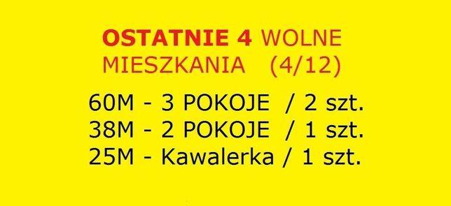 CENTRUM Mikołów Lokal usługowy - mieszkanie 25m /38m /60m BEZCZYNSZOWE