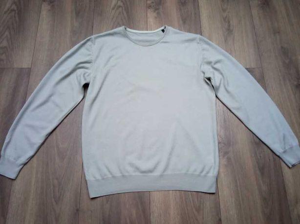 Jasnobeżowy sweter Pierre Cardin