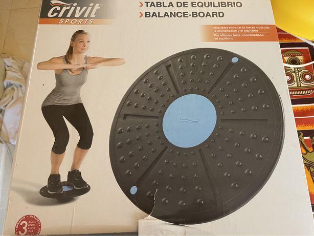 Balance board/ barras de flexões/ roda para flexões