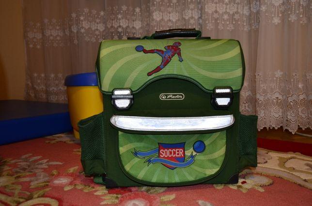 Ранец каркасный, рюкзак ортопедический HERLITZ MIDI. Оригинал.